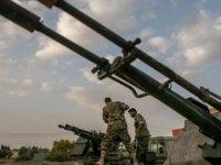 Sirte kentine düzenlenen hava saldırısında 20 Hafter milisi öldürüldü
