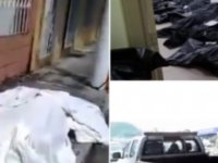 Ekvador'da insanlar ölülerle beraber evlere tıkılıyor