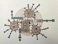 Özçelik, Kıbrıs Modern Sanat Müzesi için korona virüse karşı mücadeleyi seramiğe yansıttı