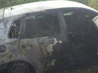 Sokağa çıkma yasağını ihlal etti,yetmedi aracını yaktı!