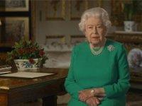 Kraliçe 2. Elizabeth: Kararlı ve birlikte olursak bu hastalığın üstesinden geliriz
