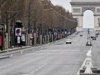 Fransa'da Kovid-19 Kaynaklı Ölüm Sayısı 9 Bine Yaklaştı