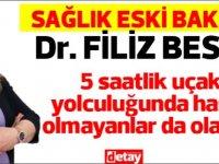 Dr. Filiz Besim'den önemli uyarı
