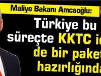 Amcaoğlu: Türkiye bu süreçte KKTC için de bir paket hazırlığında