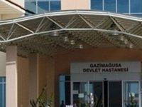 Mağusa'da Hastane'de makas ile saldırdı