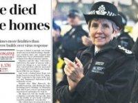 Daily Telegraph: İngiltere'de bakımevlerinde 7500 kişinin koronavirüs şüphesiyle ölmüş olmasından korkuluyor