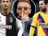 David Beckham: Ronaldo, Messi'nin seviyesinde değil