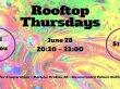 """Dayanışma Evi'nin canlı müzik geceleri """"Rooftop Thursdays"""" yeniden başlıyor."""