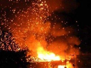 KKTC'Yi dehşete düşüren patlamalar vatandaşların kamerasına böyle yansıdı