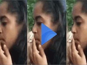 ABD Başkanı Barack Obama'nın büyük kızı Malia esrar mı içiyor?