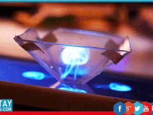 Cep telefonunuza el yapımı hologram piramiti yapmak ister misiniz?