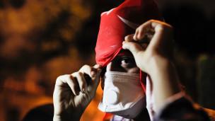 Gezi Parkı protestocusu