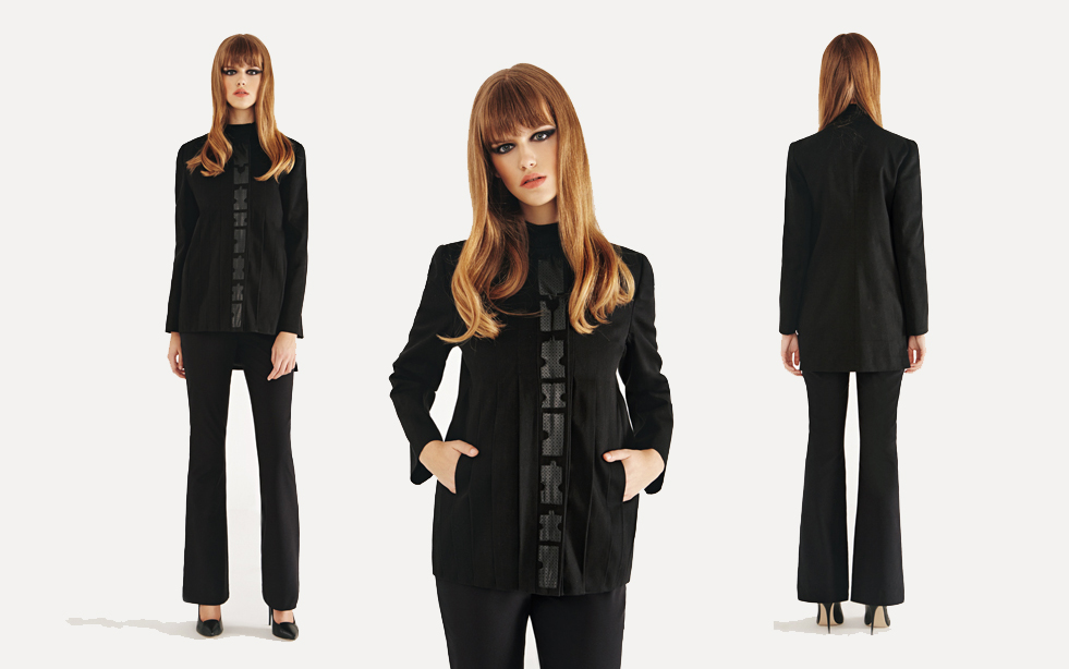 Cumhurbaşkanı Mustafa Akıncı'nın kızı olarak dikkat çeken ancak yaptığı kıyafet tasarımları ile kendisinden oldukça ciddi şekilde bahsettirmeye başlayan Zerrin Akıncı'nın 2016 Sonbahar ve kış koleksiyonu göz dolduruyor.